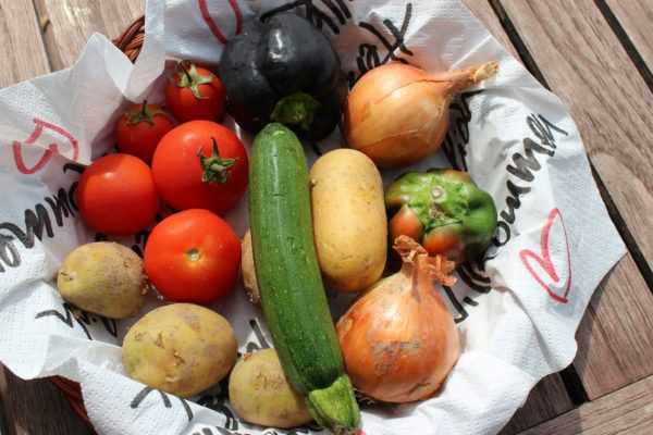 Frisches Gemüse regional
