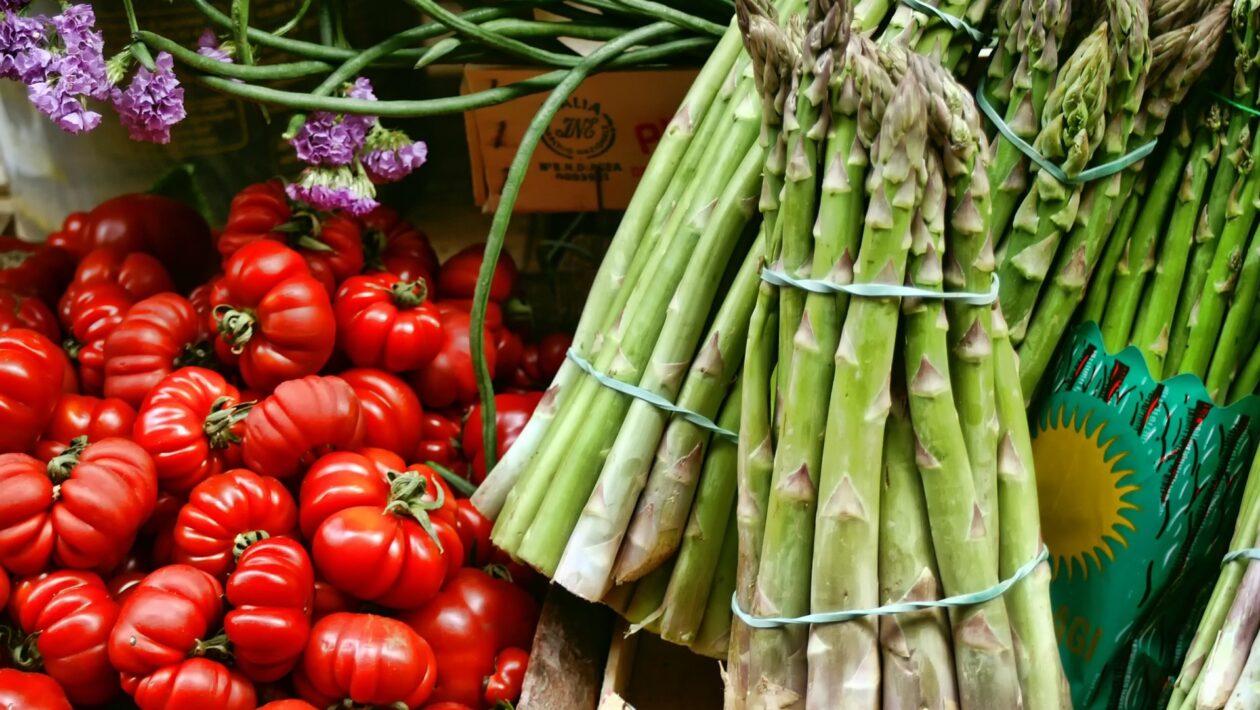Obst und Gemüse aus Italien